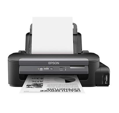 epson m100 monochorome inkjet printer (black)