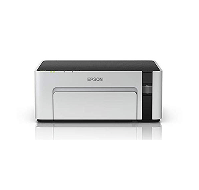epson m1100 single-function inktank printer (white)