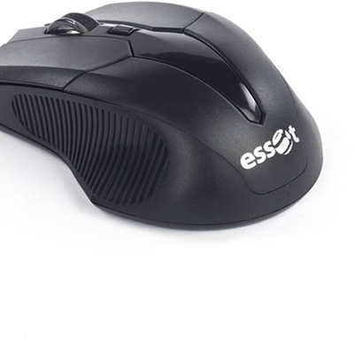 essot- 003, wireless optical mouse, usb black, 6 month warranty