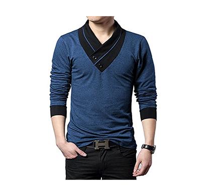 eyebogler men's striped regular fit t-shirt (multicolor)