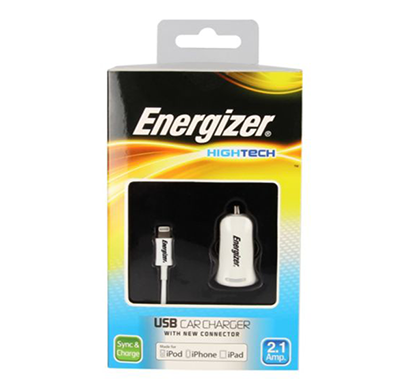energizer hightech car charger 1 usb for iphone 5