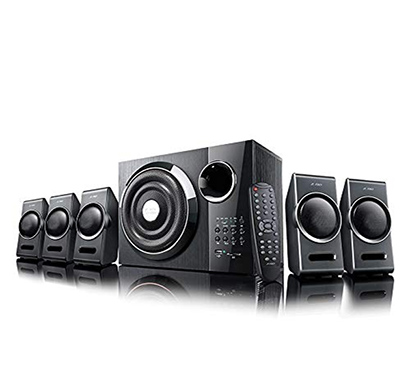 f&d (f3000x) 5.1 channel multimedia speakers (black)