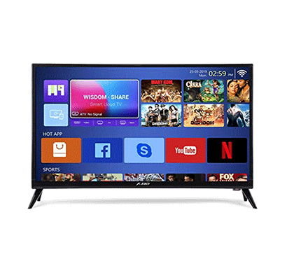 f&d (tlt-3217sdt) 80cm (32 inches) hd ready led smart tv