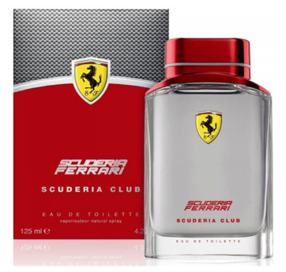 ferrari scuderia club 125 ml for men