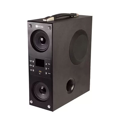 flow mini boombox 5.1 tower speaker
