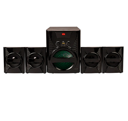 flow grand2 bluetooth home theater system (black)