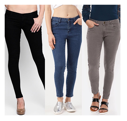 for you for me (maa-silky bbasgr) women western wear - western bottomwear - jeans -regular (black, basic and grey)
