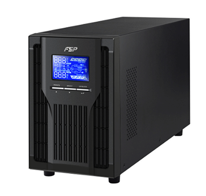 fsp ppf8001308 ups champ 1kva with battery (black)