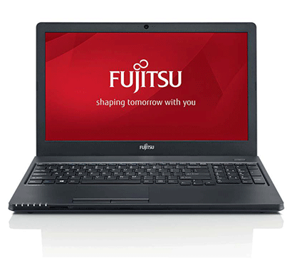 fujitsu 15.6 inch life book a555 laptop core i3 5th gen, 4 gb, 1 tb, dos black