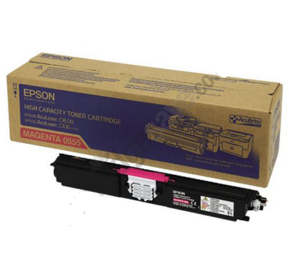 genuine epson-c13s050555, high capacity toner cartridge (magenta)