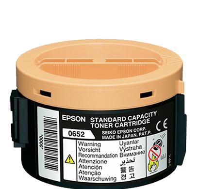 genuine epson-c13s050652, standard capacity toner cartridge(black)