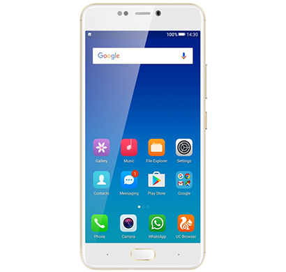 gionee - a1 mobile, 64 gb, 4 gb ram, gold, 1 year warranty