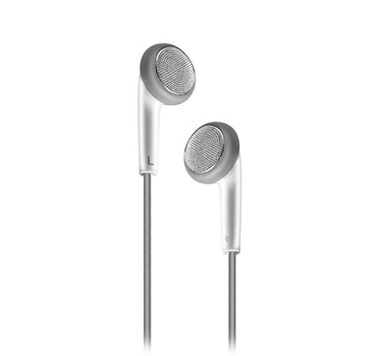 gionee earphone with mic (white)