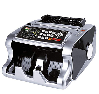 gobbler gb8888-e mix note value counting machine fully automatic with fake note detection