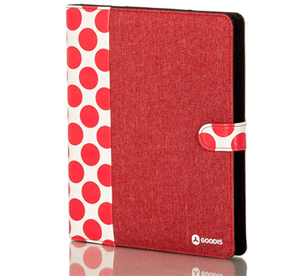 goodis urban mood universal tablet cover red