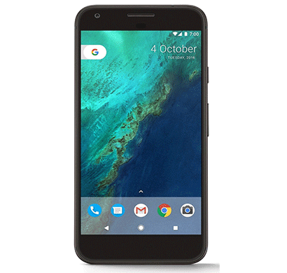 google pixel, 32gb, 5.5-inch display, 12.3mp primary camera black