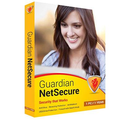 guardian netsecure anti-virus 1 user 1 year