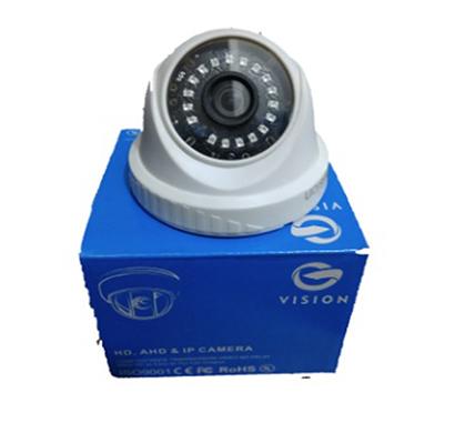 gvision (gv1dhd) 1 mp dome camera (white)