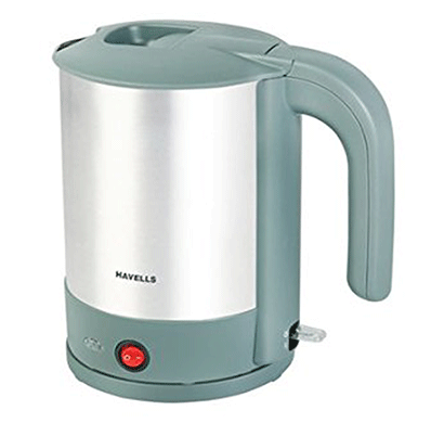 havells estelo tea maker 1.5 ltr 2000w (green and gray)