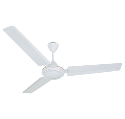 havells es - 50, five star1200 mm ceiling fan, white, 1 year warranty