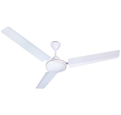 havells es -50 premium, five star 3 blade ceiling fan, white, 1 year warranty