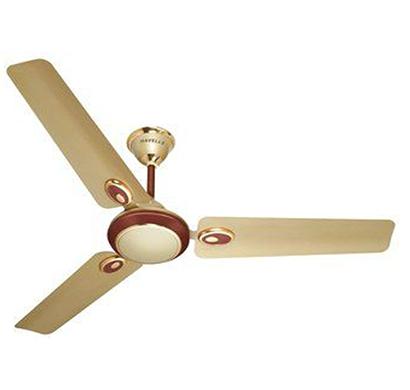 havells fusion -50, 5 star advantage 3 blade ceiling fan, beige brown, 1 year warranty
