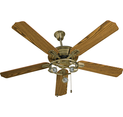 havells- cedar u/l, 1320mm ceiling fan, antique brass, 1 year warranty