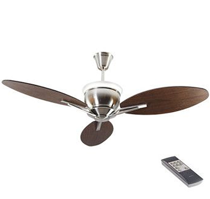 havells- florina, 1320mm premium underlight ceiling fan, brushed nickel, 1 year warranty