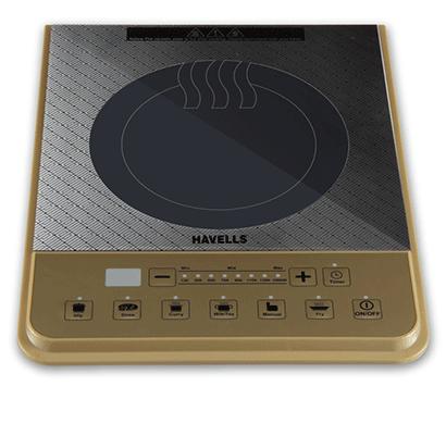 havells insta cook pt 1600-watt induction cooktop 1600w golden