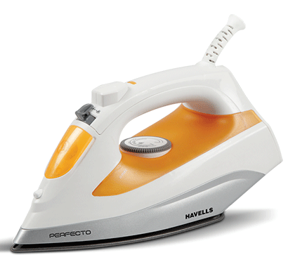 havells steam iron perfecto 1800w non stick coating
