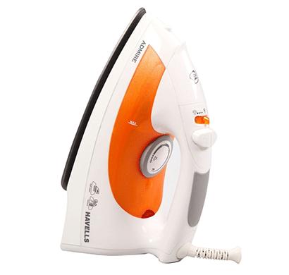 havells admire 1320-watt steam iron 320ml (orange)