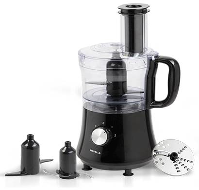 havells automatic pro hygiene 500-watt juicer (black)