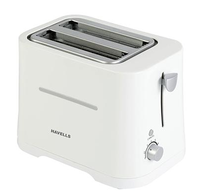 havells crisp 700-watt pop-up toaster (white)