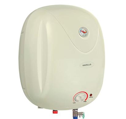 havells - ghwepftiv010, 10litre puro plus storage water heater, lvory, 1 year warranty