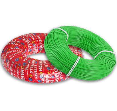 havells - heat-180-green6x0, life line plus s3 hrfr heat cables 6.0 sqmm, 180 mtr, green, 1 year warranty