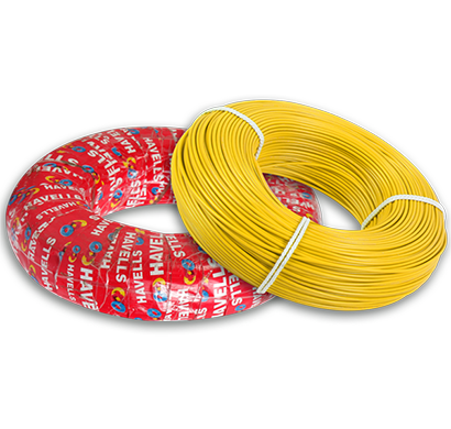 havells- heat-180-yellow6x0, life line plus s3 hrfr heat cables 6.0 sqmm, 180 mtr, yellow, 1 year warranty