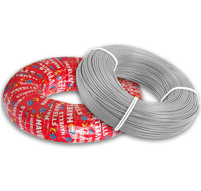 havells - heat-180-grey2x5, life line plus s3 hrfr cables 2.5 sqmm heat cable, 180 mtr, grey, 1 year warranty