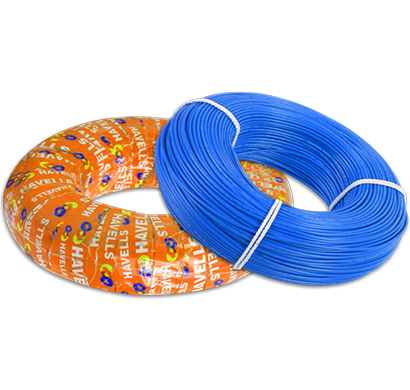 havells - whffznbl16x0, life shield hffr cables 6.0 sqmm, halogen free flame retardant 180 mtr, blue, 1 year warranty