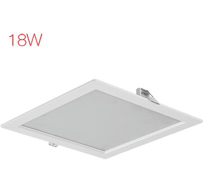 havells- lhebmdp5uz1w018, fazer square 18w, warm daylight, 1 year warranty