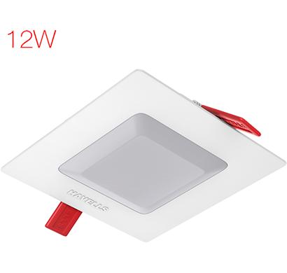 havells - lheblep7iz1w012, amaze square 12w, cool daylight, 1 year warranty