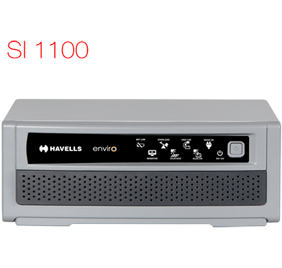 havells - si 1100, pure sine wave inverter , white, 1 year warranty
