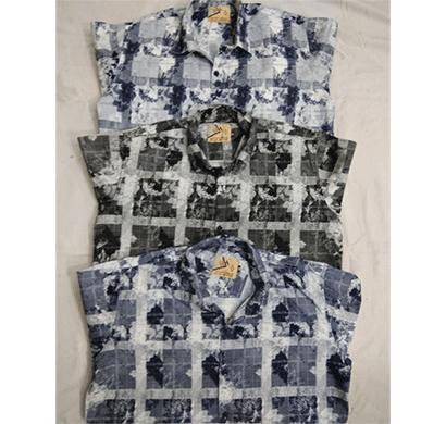 henry hills hh-39 cotton full sleeves men's shirt kashmiri work