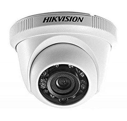 hikvision ds-2ce5ac0t-irpf 1mp 720p turbo hd dome camera (silver)