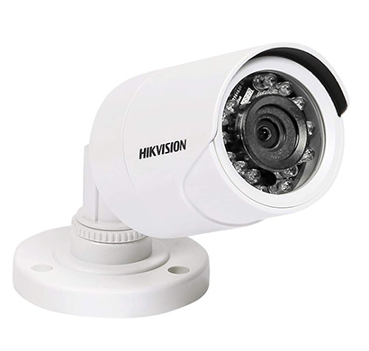 hikvision ds-2ce1ad0t-ip/eco 2mp 1080p full hd night vision outdoor bullet camera (white)