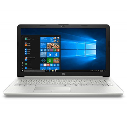 hp 15 (da1041tu) laptop (core i5-8265u/ 8th gen / 8gb ram / 1tb hdd / windows 10 / 15.6-inch screen/ integrated graphics),silver