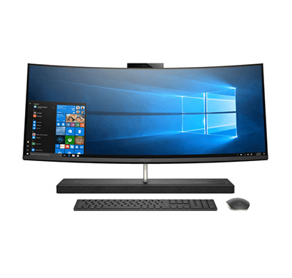 hp envy curved 34-b151in (4lz53aa#acj) aio desktop (intel i5-8400 hexa core/ 8th gen/ 8gb ram/ 1tb hdd + 16gb optane/ windows 10/ 4gb graphics/ 34inches)