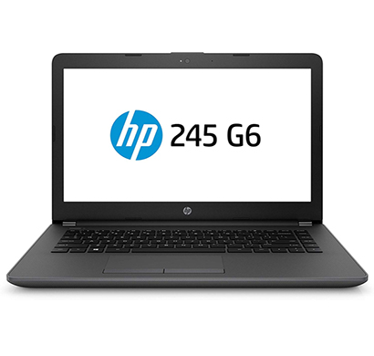 hp 245 g6 (4ad35pa) laptop (amd a9 - 9420/ 4gb ram/ 500gb hdd/ 14 inch screen/ no dvd/ dos),black