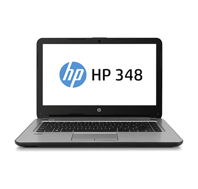 hp 348 g4 (5nz81pa) 14 inch laptop ( intel core i3 7th gen/ 4gb ram/ 1tb hdd / dos/ fingerprint/ 1 year warranty)