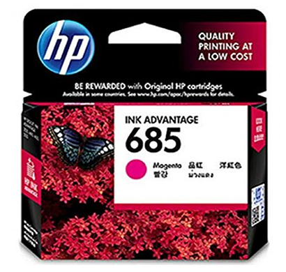 HP 685 Magenta Ink Cartridge -(CZ123AA)