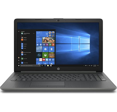 hp notebook-15-da0400tu (7ny46pa) laptop (intel core i3-7100u/ 7th gen/ 8gb ram/ 1tb hdd/ m2 ssd slot/ 15.6 inch screen/ windows 10 home, office h&s 2016), smoke grey